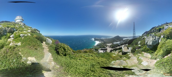 Panoramic View of the Cape of Good Hope